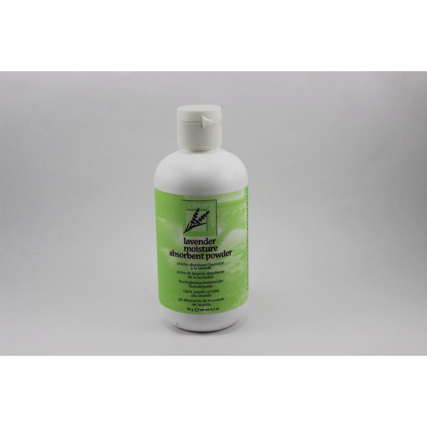 Lavender moisture absorbent powder